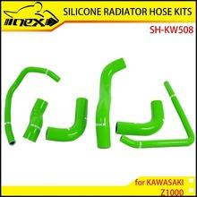NEX SILICONE RADIATOR HOSE KIT FOR KAWASAKI Z1000 03-06
