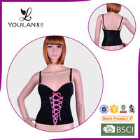 Lycra Antimicrobial breathable new design bodysuit plus size tops to wear out corset