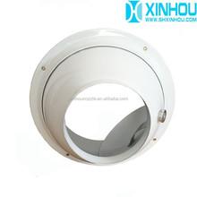 Adjustable round ceiling air diffuser
