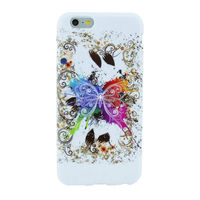 Butterfly Pattern Ultra thin Slim TPU Case for iPhone 6 plus