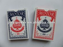 Hot sale Motor brand high quality playing cards