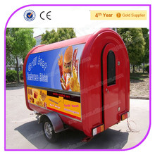Multifunctional BBQ Mobile Food Van