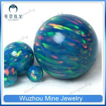 synthetic OP#02 ball shape 1.5mm cabochon opal stone price