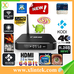 Newest T95 Smart TV Box Pre-installed Latest Kodi 16.0 Fully Loaded Android TV Box T95