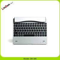 For ipad 2 case with bluetooth keyboard 4000mAh battery built in, power bank with keyboard for ipad