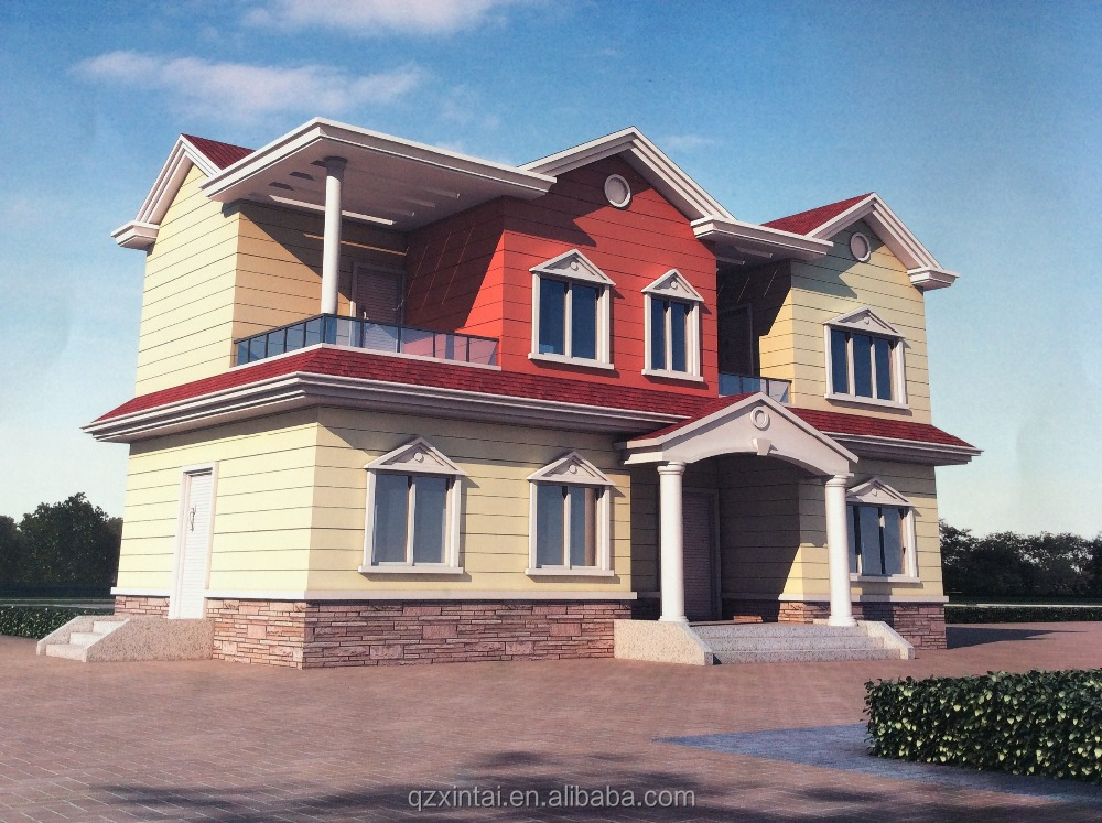 Cheap made in china prefab houses for Are prefab houses cheaper