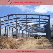 H formed galvanized steel roof