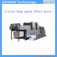 industrial two color high speed offset press,man roland offset printing machine spare parts, web offset printing machine,