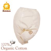 Simba 100% GOTS Organic Cotton Winter Newborn Pant Organic Baby Clothes (60cm)