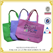 Wholesale Custom Cheap shopping printed non woven bag