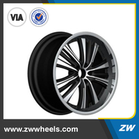 2015 Special offer for the High quality replica 20'' black rims in stock(ZW-S859)