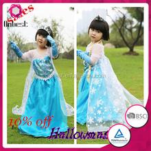 Amar circo disfraz sencilla cosplay traje de princesa kids vestido de lujo del traje