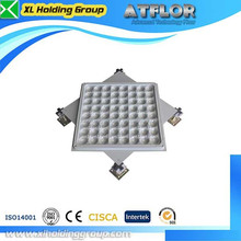 anti static powder coated network floor data center container