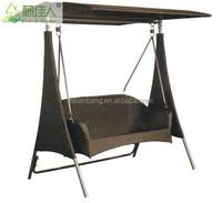 double garden swing chair