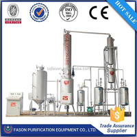 Waste Engine Oil Recycling Machinery (change dark to yellow )