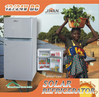 Low price dc solar powered refrigerator freezer fridge home appliances