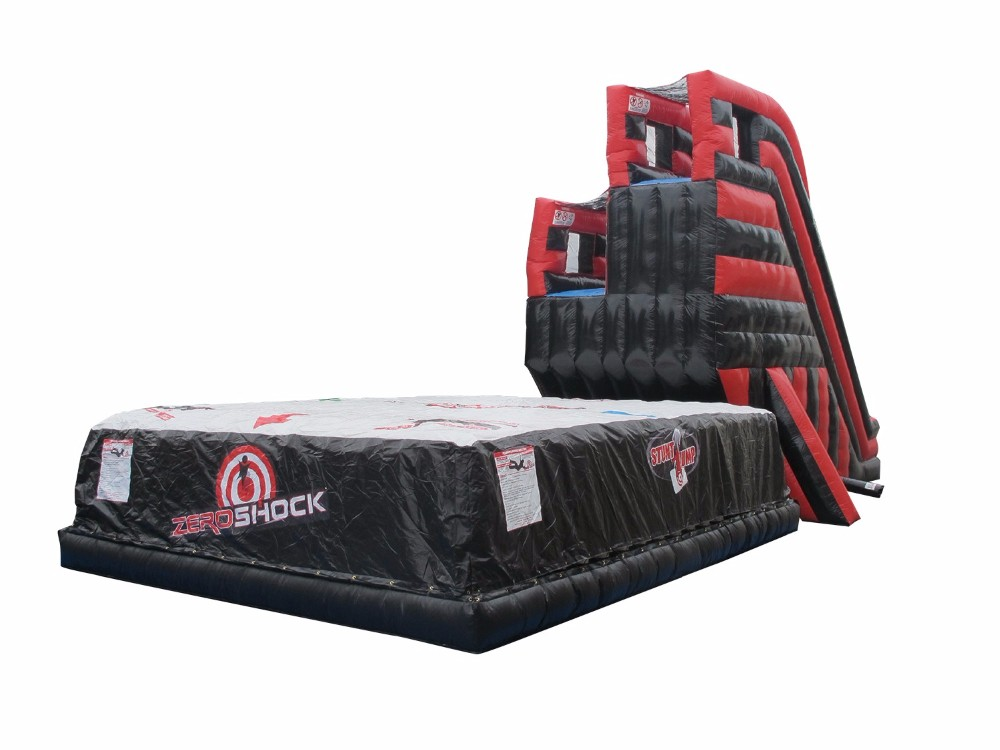 Freefall Double Jump Platform with Air Bag Inflatable Interactive.jpg