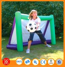Custom Size Inflatable Basketball Goal/Court
