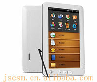 Hot! screen-touch ebook 7 with rockchip solution,4G memory built-in,800*480 resolution,supported 7-8h
