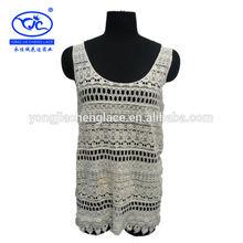 ( fábrica yjc15011) crochet damas chaleco de verano para mujer de moda chalecos