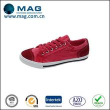 Special classical buckle dyeing canvas shoes for men