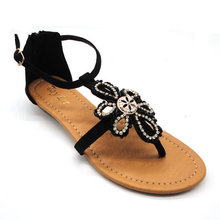 ornament ladies flat shoes 2015 spring