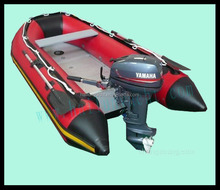 10 ft outboard motor inflatable fishing boat made in china