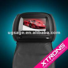 HD706 7 inch headrest LCD car DVD monitor