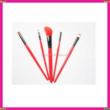 factory technique private label lip make up brush set 5 for girls