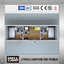 ISO,CE,UL,SGS,Certificated 40ft Fast Build Mobile Container Home For living,Office,WC