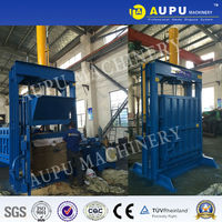 Y82 used clothing baling machine 22kw to UK