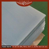 Shanghai Fochier 2015 thermoforming plastic products 4x8 pvc sheet