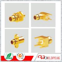wifi router BMA flange mount crimp connector for cable