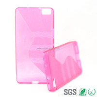 Protective Waterproof Soft Cell Phone Case S Line TPU for BQ Aquaris M5