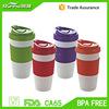 Eco friendly plastic starbucks coffee cup RH124-16