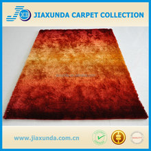 Polyester Long Pile Shaggy carpet runners stairs