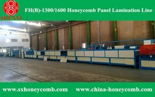Automatic machine honeycomb cardboard line HF(A)-1600 Deluxe