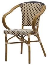 Foshan factory stacking ratan dining chair