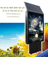 advertising board outdoor light box solar led display board