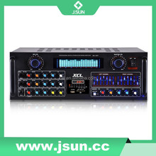 Hot-selling usb sd card amplifier with remote control, voice amplifier with eq