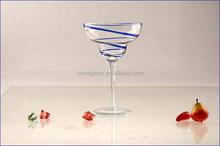 2015 Margarita glass Elegant fancy superior white high stem martini cocktail glassware 200ml BXC04 (glass factory passed FDA/EU