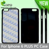 Best seller Sublimation hard PC cover case for Iphone 6 Plus