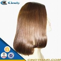 New top quality jewish kosher human hair wigs silk top