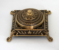 antique brass ashtray/square metal ashtray china manufacturer