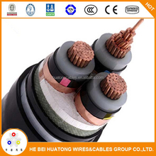 underground cable 11KV 3 core 150mm2 xlpe power cable