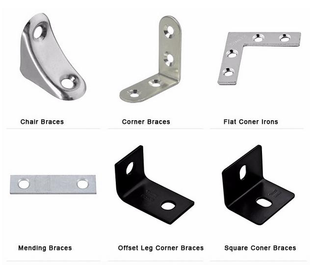 Factory Price Steel Angle Bracket Metal Flat T Bracket ...