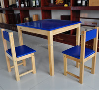 heavy-duty wood dining set table chair