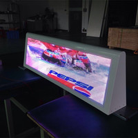 Products Taxi Roof Top Advertising Lighted Signs 3G 4G WIFI GPS USB Wireless Taxi Top Advertising