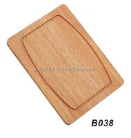 Hot-selling rubber wood cutting board