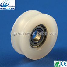 high quality 626ZZ 6x26.2x7mm u shape nylon roller